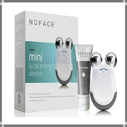 Wholesale Hot sale Nuface trinity pro facial trainer kit Nuface new mini facial toning device FDA cleared home beauty equipment with white pink color