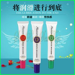 Wholesale 3 different sytles sex lubricant Water based lubricant sex products g