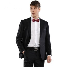 Grey Suit Black Bow Tie Online | Grey Suit Black Bow Tie for Sale