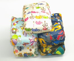 Wholesale 10 Adjustable Reusable Printed Cloth Diapers Baby Cloth Diaper Nappy inserts