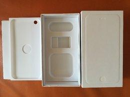 50шт iphone 6 Коробка Белый Черный Мобильный телефон Упаковка США Объем упаковки с нами для Iphone 6 6 плюс пустое поле нет принадлежностей
