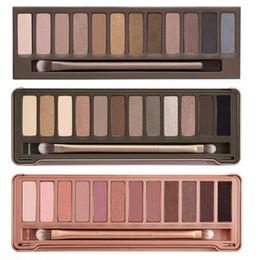 Hot Eyeshadow Palette A 1 ª 2 ª Geração Makeup mais recente 12 cores Cosmetic Shimmer sombra de olho mate com escova M301 1pcs