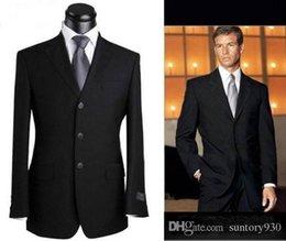 Wholesale New Fashion Designer Celebrity Men Black V neck Blazers Suits High Quality Mens Business Suits for Men