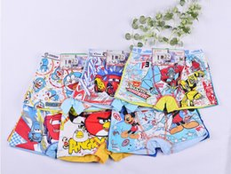 Wholesale Sell of new cotton cartoon children s underwear The boy boxer briefs Children s underwear for Christmas delivery free of charge