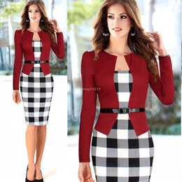 Discount Business Dress Clothes For Women  2017 Business Dress ...