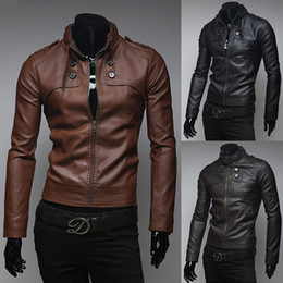 Mens Brown Leather Jackets Sale Online | Mens Brown Leather
