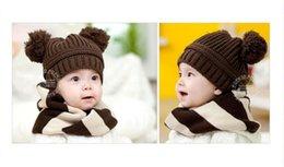 Wholesale Baby Hat Boy Girl Beanie Fashion Bitter Chocolate Bucket Hat Toddler Children Kids Winter Hat Boys Girls Caps Infant Caps