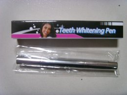 2015 novo em stock Teeth Whitening Escova Pen Limpeza Gel de dente Oral Care Limpe Branco Beauty Women