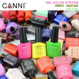 Wholesale 30917X CANNI Easy Soak off UV Gel Nails Color CANNI Private Label Nail Polish Gel