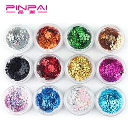 Wholesale Promotional nail diy accessories heart shaped jewelry nail Sequin Star Sticker jewelry g bottled