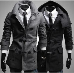 Fitted Trench Coat Mens Online | Mens Slim Fitted Trench Coat for Sale