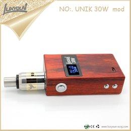 Wholesale Original Luxyoun W Wood box Mod Best price Newest Mod box mod ecig