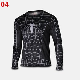 Wholesale long T Shirts the Transformers Avengers Captain America Superman Spiderman Venom Costume Marvel Men Avengers so cool fashion