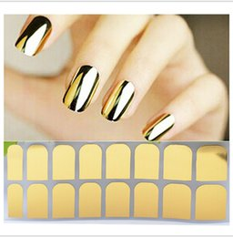 Wholesale Nail polish stickers explosion models decal stickers affixed Europe whole range of metal nail patch solid