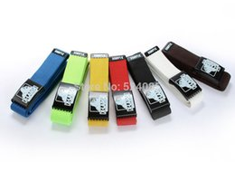 Wholesale New free man s teenager cartoon X large king kong fashion canvas woven casual metal buckle knit strap belts waist band belt cinto h kids des
