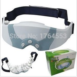 Wholesale Mask Migraine DC Electric Care Forehead Eye Massager With Free Gift Eye Mask Eye Massage Massager
