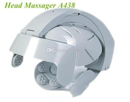 Wholesale Electric Head Massager Brain Massage Relax Easy Acupuncture Points Gray A438