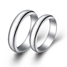 fashion wedding band couple rings for men and women jewelry silver plated ring designer free shipping gift ulove j017