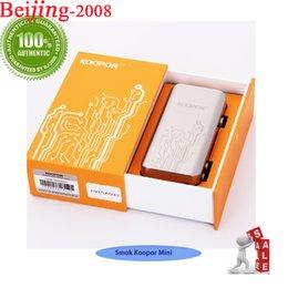Control de temperatura variable Smok Koopor Mini 60W Caja Mod Potencia 6-60W Mod para 510 hilo Sub-0.2ohm 3.0ohm atomizador 100% original 002897