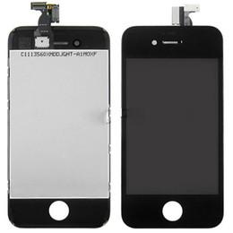 ЖК-дисплей для iPhone 4 IPhone 4S GSM CDMA с сенсорным экраном планшета замена сотового телефона сенсорный ЖК-панелей Самый быстрый корабль