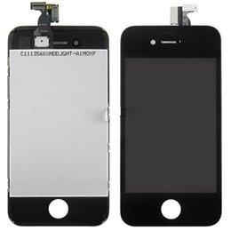 Display LCD per iPhone 4 di iPhone 4S GSM CDMA con Touch Panel Touch Screen Digitizer sostituzione delle cellule LCD nave più veloce