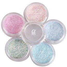 Wholesale Colors ALPHA Flash Powder Super Bright Pearl Shining Bright Glitter Powder Eye Shadow Pink Diamond
