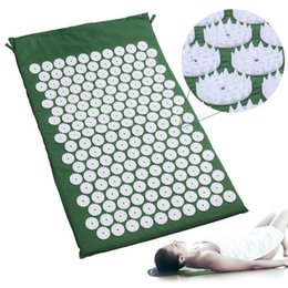 Wholesale 2015 Gadget Usb Lamp Health Care Pain Relief Acupuncture Body Massage Mat Ease Combat Yoga The Pad Stress Sore Muscles And Sleep Deprivation