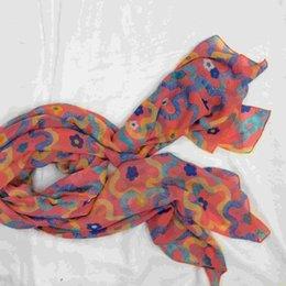 Wholesale Korea new summer beach towel velvet chiffon scarf print shawl scarf outdoor anti Sai female factory