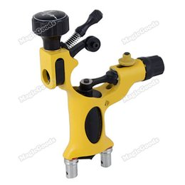 Wholesale High Quality Brand New Rotary Motor Tattoo Machine Gun Dragonfly Style Liner Shader Blue Hot