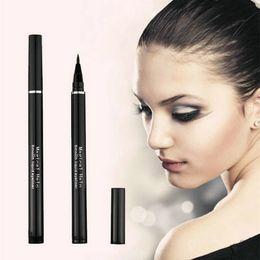 Wholesale Hot Selling Black Waterproof Eyeliner Liquid Eyeliner Pen Pencil brand Makeup Beauty Cosmetic