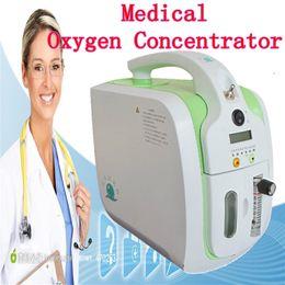 CE approuvé 5L Mini oxygène portable Générateur Concentrateur pour voiture / Accueil / Voyage avec adaptateur de voiture