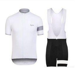 2016 Rapha Jerseys de ciclismo establece Cool Bike Suit Bike Jersey de manga corta de manga corta bib cortocircuitos camisa de ciclismo para hombre