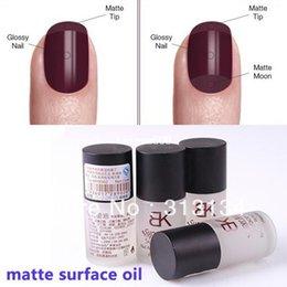 Wholesale 2pcs Super matte surface Magic oil Nail Art Polish Perfect Choice ml Top Coat