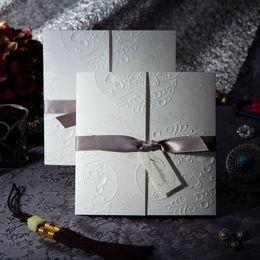 Wholesale 2016 In Stock Wedding Invitation Cards Gole Wedding Invitations Free Printable Cards Business Invitations Custom Made ZYY