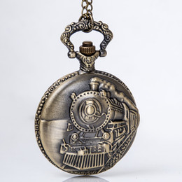 antique train pocket watches online antique train pocket watches train pocket watch necklace antique jewelry sweater necklace best christmas gift shipping 068