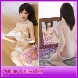 Wholesale muñecos de silicona sólida llena del sexo altura cm reales muñecas del amor de silicona real verdadera coño adulto japonés muñeca del sexo productos del sexo