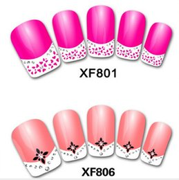 Wholesale Fashion Nail decals d nail post French manicure nail decals Nail necessary