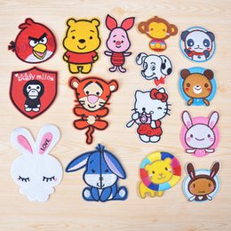 Wholesale Embroidered patch Iron On Patches cartoon patch for clothing garment embroidery patches children s gift patch DIY accessories K030