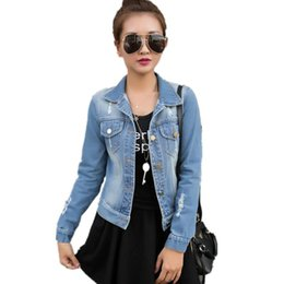 Discount Plus Size Jean Jacket  2016 Plus Size Sleeveless Jean