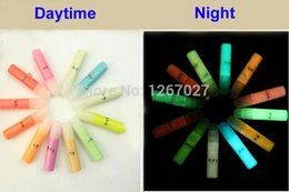 Wholesale Newest GLOW in the DARK Daytime Visible UV Re active Paint g neon pigment drawing Halloween paint luminous set colors