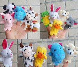 Wholesale Cartoon Finger Puppet Finger Toy Finger Doll Animal Doll Baby Dolls for Kid s Fairy Tale Finger Toys Cheap In Stock Puppet