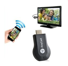 Receptor de la exhibición de Wifi 1080P Miracast Dongle de HDMI Anycast M2 para Iphone androide Ipad a la TV