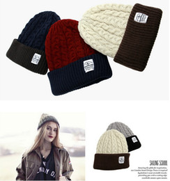 2017 wholesale knitted cashmere hat Soft Warm Caps Beanie Hat Knitting Beanies Cap Snapback Hat Sports Church Acrylic Cap For Women POM Hats Cashmere Wholesale M134