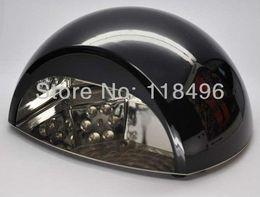 Wholesale W LED Nail UV Lamp LED CCFL Nail UV Lamp Polish Dryer Very Fast Curing