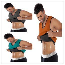 Wholesale 2015 New Full Back Support Sport Neoprene Vest Waist Cincher Trainer Gym Fitness Slimming Hot Body Shaper For Men