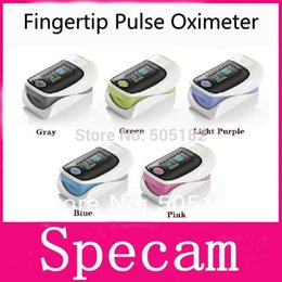 Wholesale hot sale health care OLED display Finger Fingertip Pulse Oximeter Blood Oxygen SpO2 saturation oximetro monitor freeship