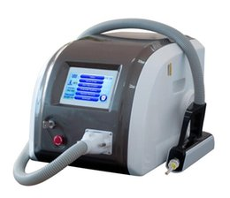 Wholesale Q Switch Nd Yag Laser Tattoo Removal Pigment Removal machine Remove coffee brown and all kinds of tattoo Pigmentation formed by pathologic