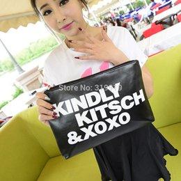 Wholesale 2015 new stylenanda women s letter handbag all match brief day clutch envelope messenger shoulder bag