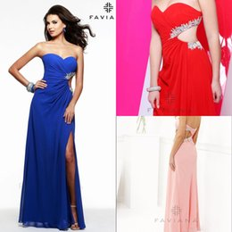 Wholesale BM Cheap Long Party Dresses Royal Blue Evening Gowns With Sweetheart Pleats Hollow Beaded Crystals High Side Split Fashionable Prom Dresses