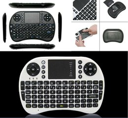 Teclado sem fio do mini teclado Rii mini i8 do Portable da venda quente 2015 com Touchpad para a almofada do PC Google Andriod Caixa da tevê DHL livra o navio